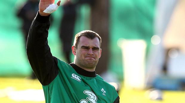 Ireland's Rhys Ruddock has suffered an arm injury which could rule him out of the World Cup