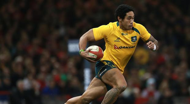 Joe Tomane scored a hat-trick of tries as the Brumbies beat the Stormers