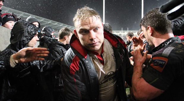 Stressed: former Ulster star Tom Court has revealed how he struggled to sleep because of the pressure of the international game