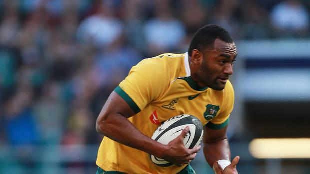 Australia's Tevita Kuridrani scored the winning try against South Africa