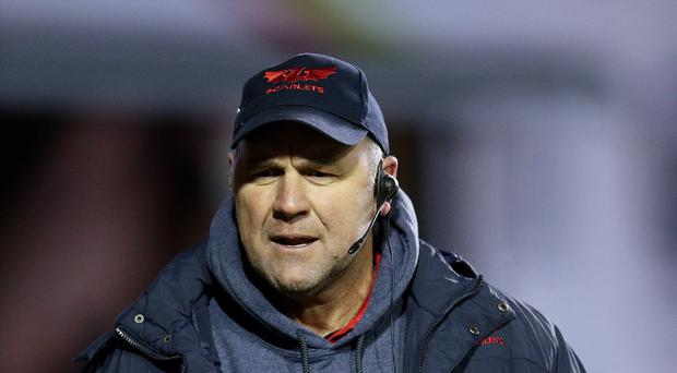 Scarlets head coach Wayne Pivac, pictured, has added to his options in the backs by signing Tom Williams on a season-long loan