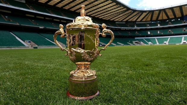 Teams will play to lift the Webb Ellis Cup