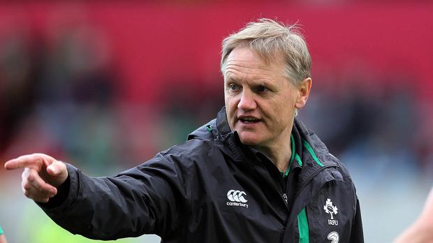 Joe Schmidt is keeping his players in the dark on World Cup warm-up match selection plans