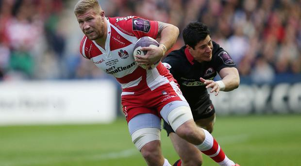 Gloucester flanker Ross Moriarty will make his Wales debut in Saturday's World Cup warm-up Test against Ireland in Cardiff