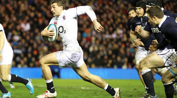 Jonny May has impressed Stuart Lancaster during England's training camp