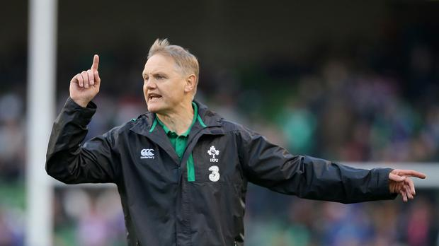 Reggie Corrigan believes head coach Joe Schmidt, pictured, already knows Ireland's World Cup squad