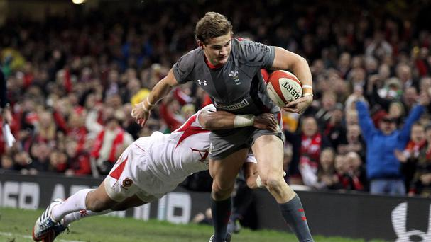 Hallam Amos has a golden chance to press his World Cup selection claims this weekend
