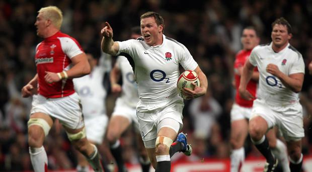 Chris Ashton has been dropped from England's World Cup training squad