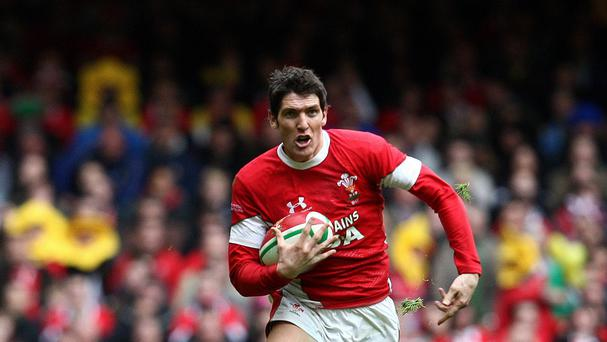 James Hook is one of three experienced players to be axed from Wales' World Cup squad