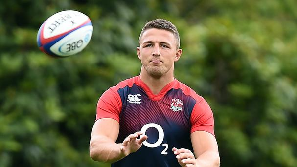 Mike Tindall believes Sam Burgess, pictured, is being played out of position at inside centre