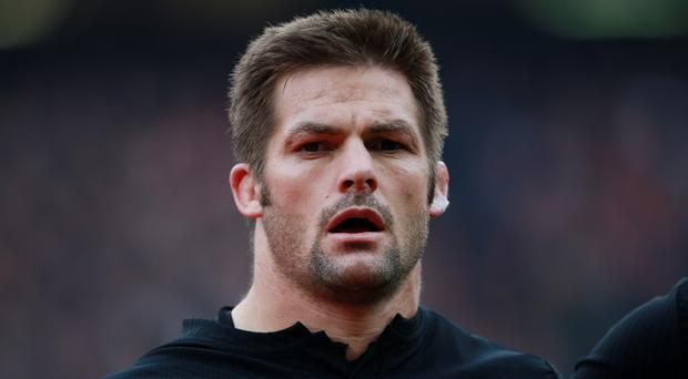 Richie McCaw's farewell to Eden Park ended in a thumping win for New Zealand