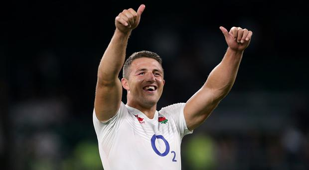 Sam Burgess made a solid debut for England against France at Twickenham