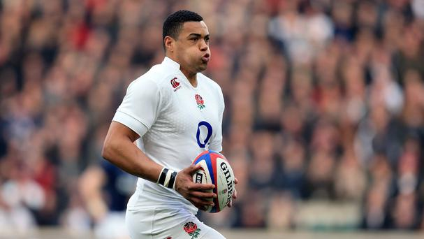 Luther Burrell starts at inside centre against France on Saturday
