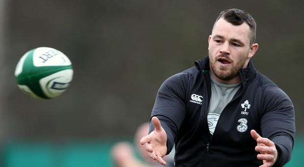 Cian Healy may return to action on Saturday