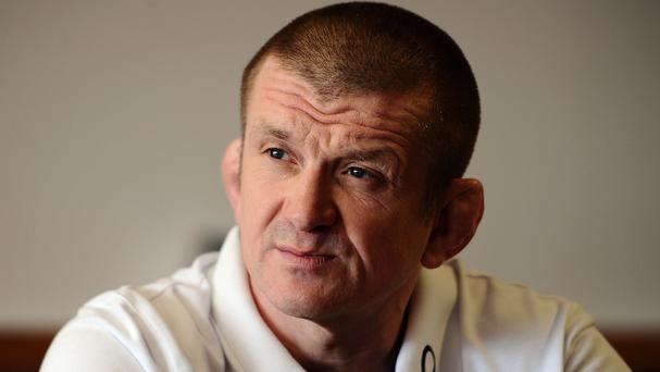 England forwards coach Graham Rowntree, picture, believes Nick Easter is pressing hard for a place in the World Cup squad