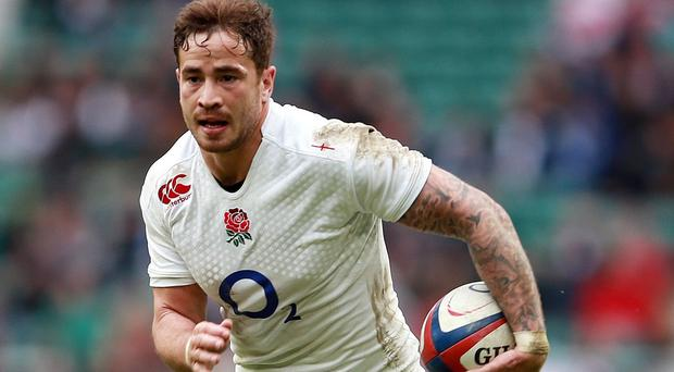 Danny Cipriani has been left out of England's Rugby World Cup squad
