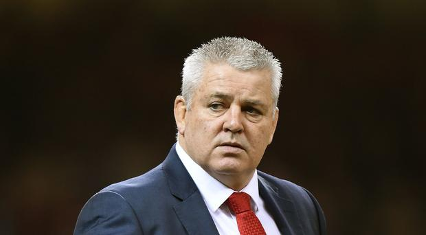 Wales head coach Warren Gatland has selected a powerful team for Saturday's World Cup warm-up Test against Ireland, including wing George North