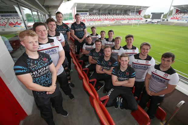 Aiming for the top: The Ulster Academy intake who hope to make to provincial and even international level