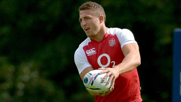 Sam Burgess wants to play a starring role for England at this year's Rugby World Cup