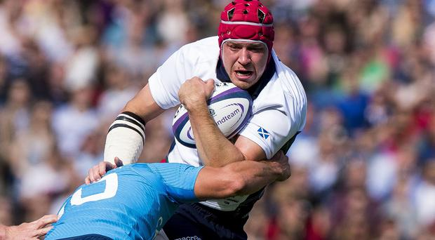 Grant Gilchrist and the Scotland team are expected to be informed on Sunday if they have made the World Cup squad