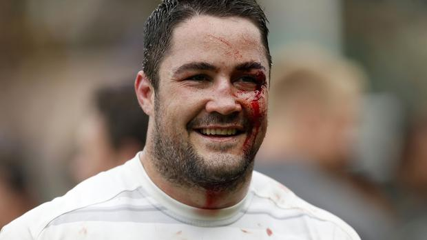 Brad Barritt will play his first game for England since the victory over Australia last autumn