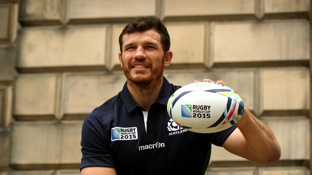 Scotland's Tim Swinson had lost hope of participating in the World Cup