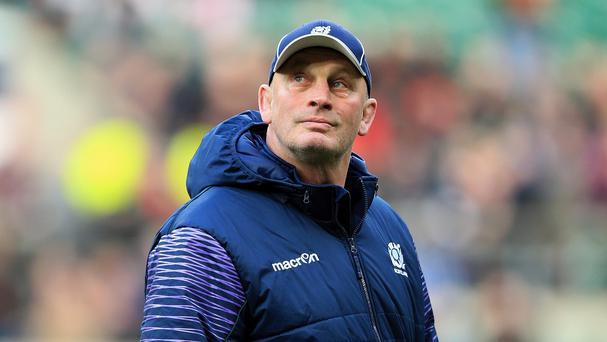 Vern Cotter, pictured, caused controversy by picking New Zealand-born John Hardie in his World Cup squad