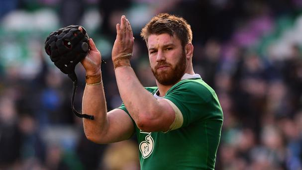 Sean O'Brien, pictured, returns to Ireland's starting line-up to complete the first-choice back-row unit for Joe Schmidt's side