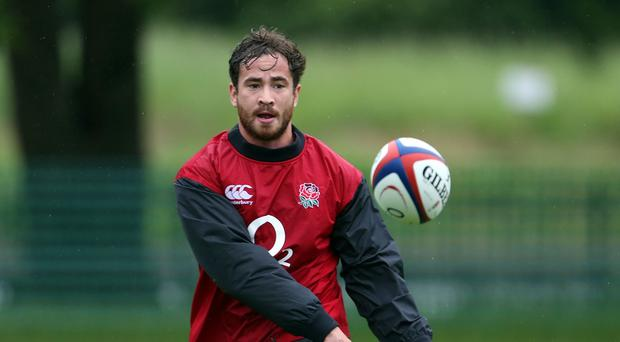 Danny Cipriani will soon be back in Sale Sharks colours after failing to make England's World Cup squad