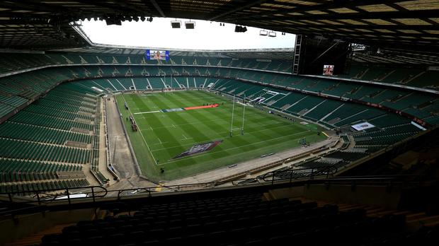 England will occupy the away changing room for Saturday's match against Ireland at Twickenham