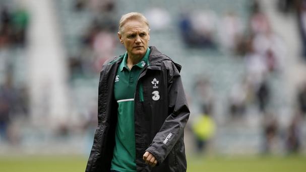 Ireland boss Joe Schmidt, pictured, will not take Canada lightly in the World Cup opener next weekend