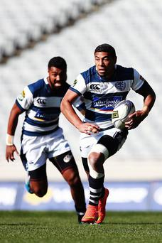 Short deal: Charles Piutau will join Wasps before Ulster spell