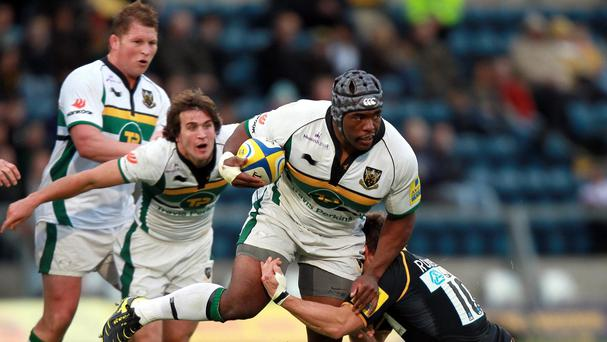 Former Northampton prop Brian Mujati has agreed a two-year deal with Aviva Premiership club Sale Sharks