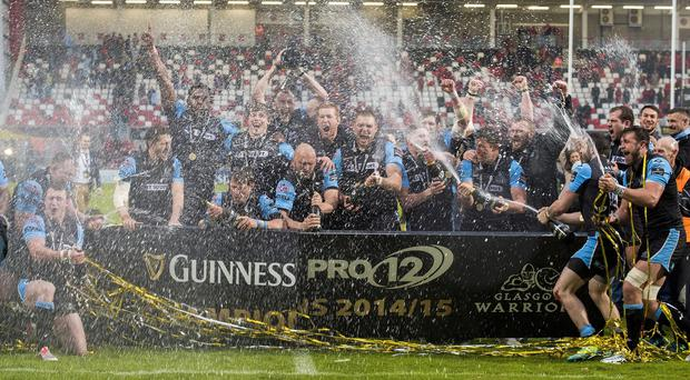 Glasgow Warriors were Guinness PRO12 champions last season