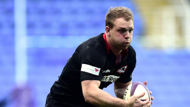 Greig Tonks was on target for Edinburgh
