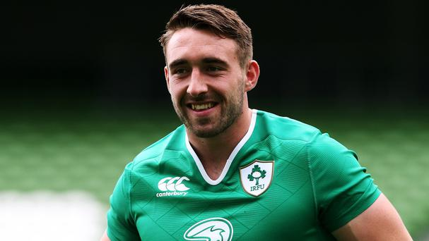 Jack Conan scored Leinster's first try
