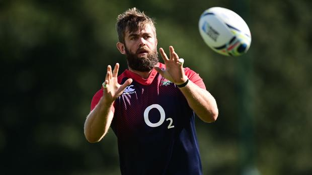 Geoff Parling is set to start in England's second row against Fiji
