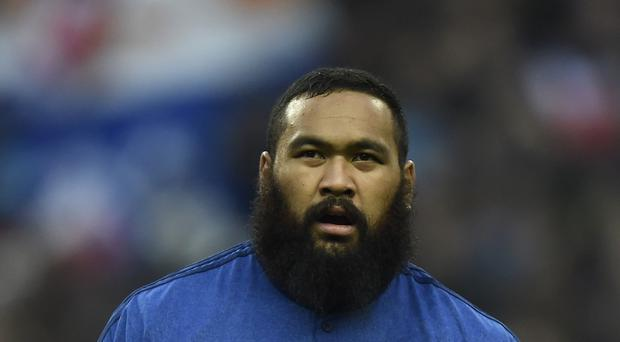 France prop Uini Atonio suffered a disturbed night's sleep thanks to a Croydon wedding party