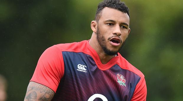 Courtney Lawes will partner Geoff Parling in the second row for England's Rugby World Cup opener against Fiji.