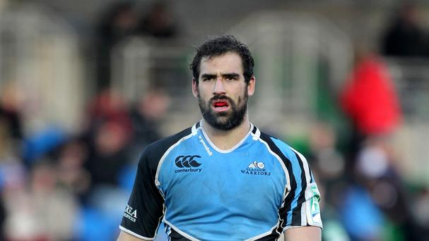 Josh Strauss, pictured playing for Glasgow, is poised to represent Scotland at the forthcoming World Cup