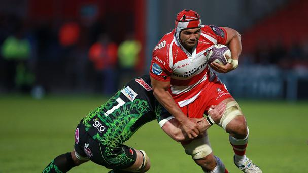 Gloucester forward Sione Kalamafoni will line up for Tonga against Georgia in Saturday's World Cup clash at Kingsholm