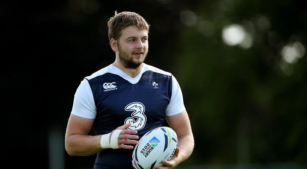 Iain Henderson, pictured, has been tipped to hit his Test match potential with Ireland at the World Cup
