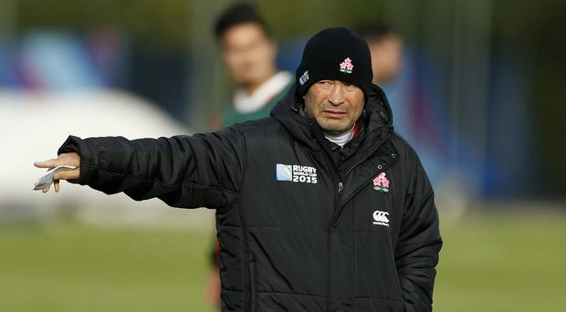 Eddie Jones knows his Japan side are the underdogs as they prepare to face South Africa