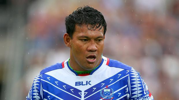 Samoa's Ofisa Treviranus is in confident mood ahead of their World Cup opener with the US