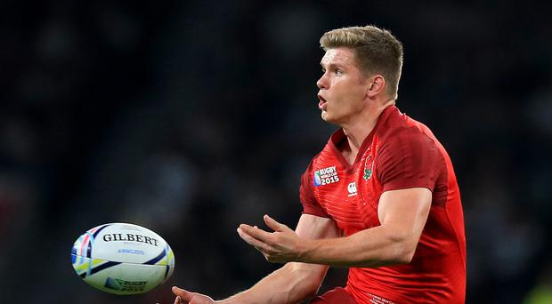 Owen Farrell was frustrated by the number of TMO referrrals