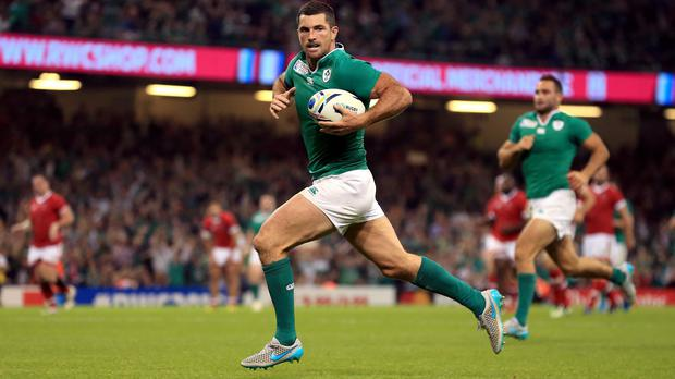 Rob Kearney is primed for more World Cup action at Wembley on Sunday