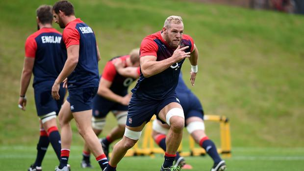 James Haskell is taking on the identity of England's opponents to assist the team's preparations