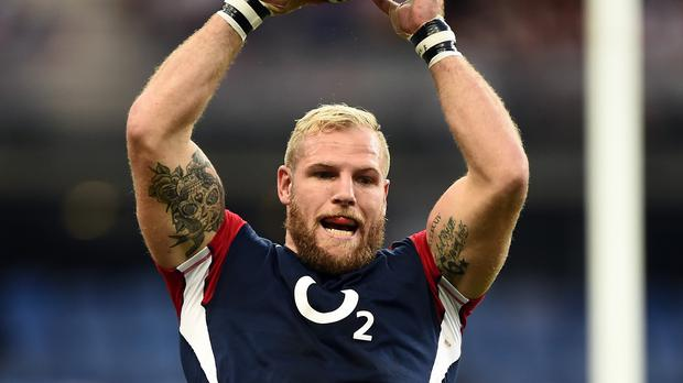 James Haskell, England