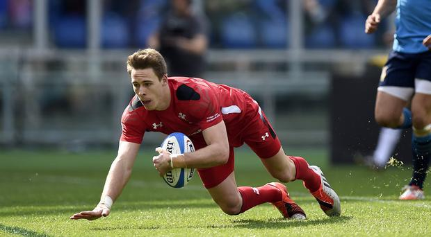 Liam Williams is one of the Wales players who picked up a knock in the victory over Uruguay