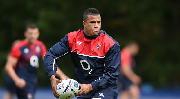Anthony Watson does not mind who plays at centre for England